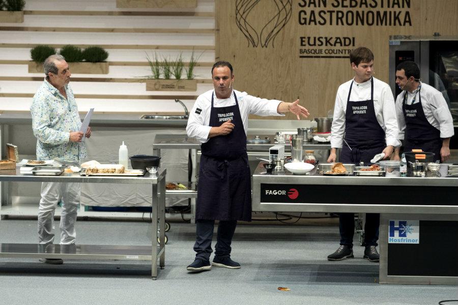 Angel Leon sul palco di Gastronomika 2018