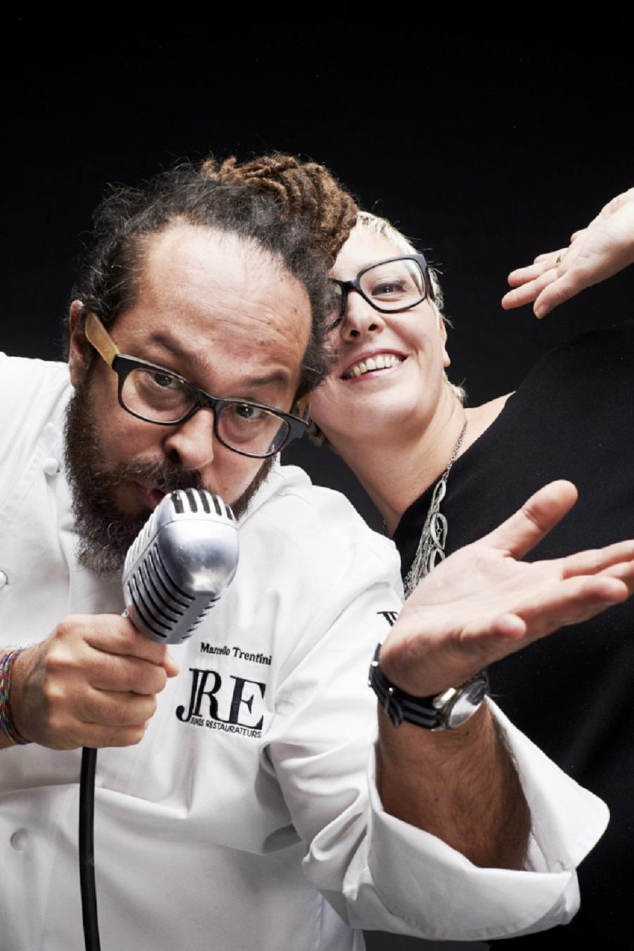 Marcello e Simona Trentini Foto Pietro D'Aprano