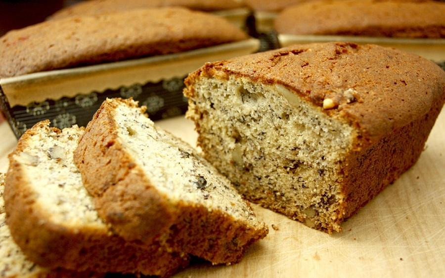 banana_bread1 Uazz'America, la cucina a stelle e strisce. Snack per ogni momento: banana bread e cookies