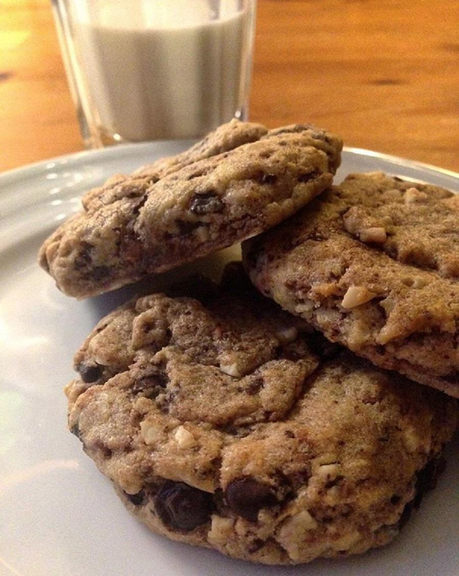 cookies3 Uazz'America, la cucina a stelle e strisce. Snack per ogni momento: banana bread e cookies