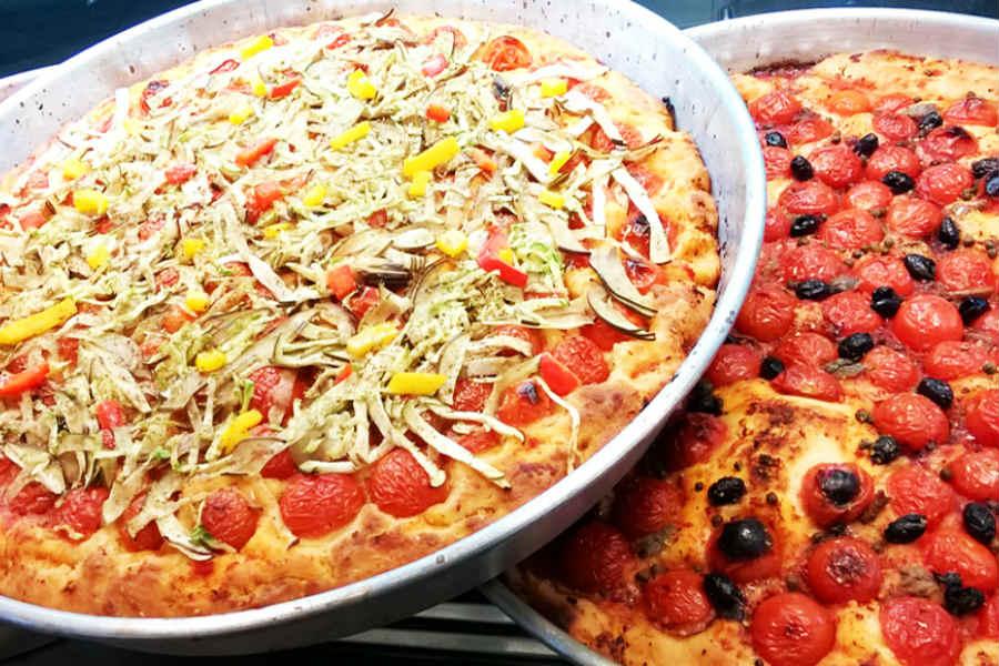 Puddica_brindisina_-_foto_di_pizzeria_Al_Mulino La focaccia e i suoi derivati. 8 specialità pugliesi e la ricetta della focaccia barese