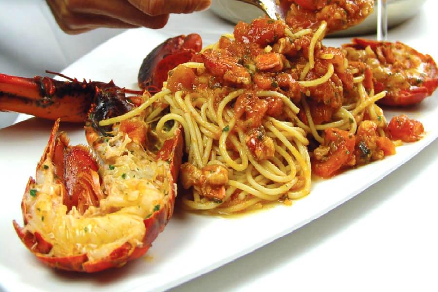 Spaghetti con l'aragosta
