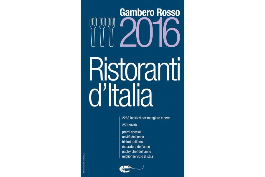 Ristoranti d'Italia 2016