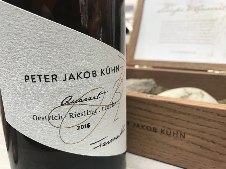 Riesling Trocken Quarz 2016 Peter Jacob Khun