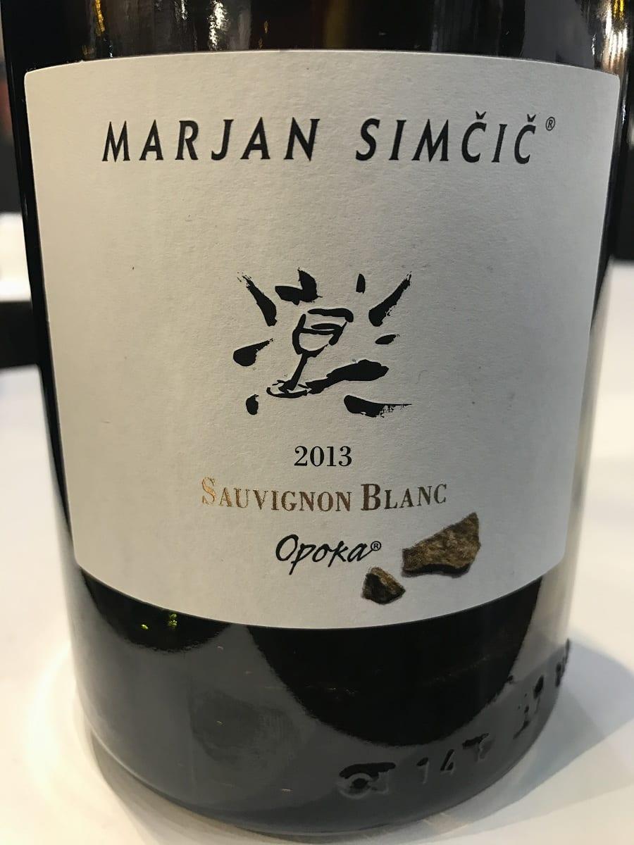 Sauvignon Blanc Opoka 2013 Marjan Simcic