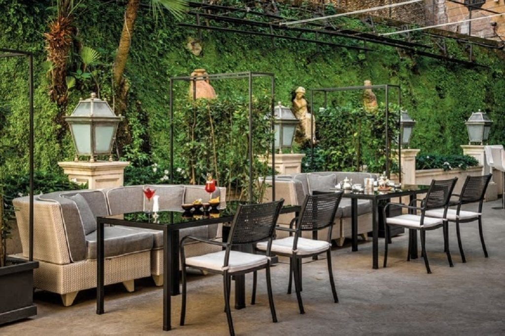 i tavoli di hassler bistrot at palm court