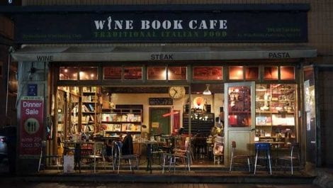 Wine Book Cafe