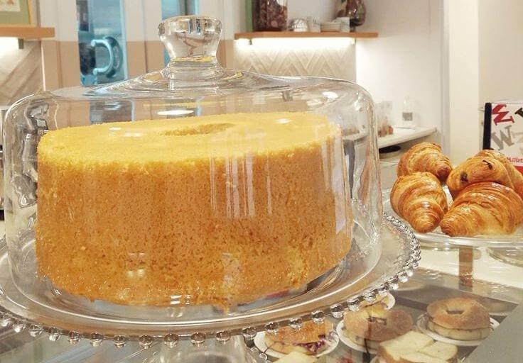 Chiffon cake, Café Merenda