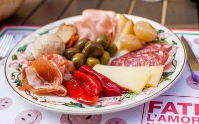 L'antipasto all'italiana Da Panino