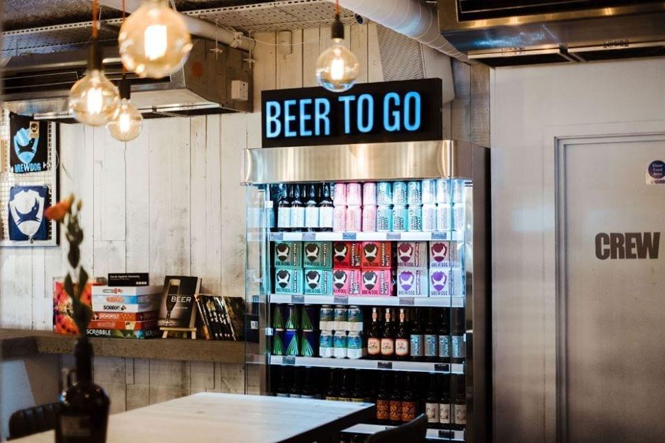 Le birre in bottiglia del BrewDog Af Bar
