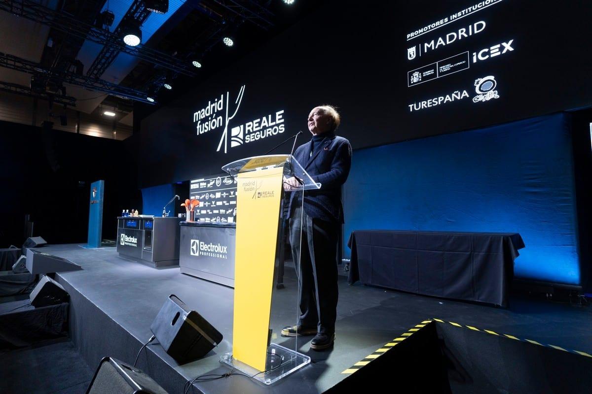Carlos Capel. Madrid Fusion 2020 Foto matias Nieto
