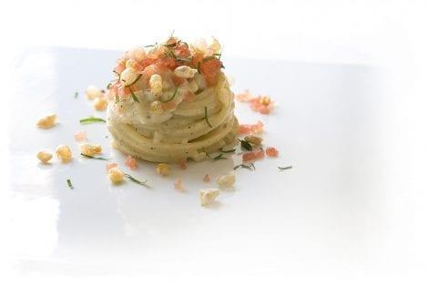 galleria di sopra albano: piatto di pasta