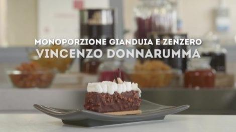 Vincenzo Donnarumma e la sua Monoporzione Gianduia e Zenzero