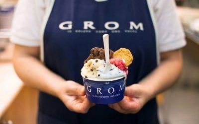 Una coppetta di gelato di Grom