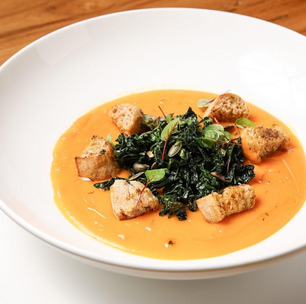 Una zuppa a pranzo da Macramè