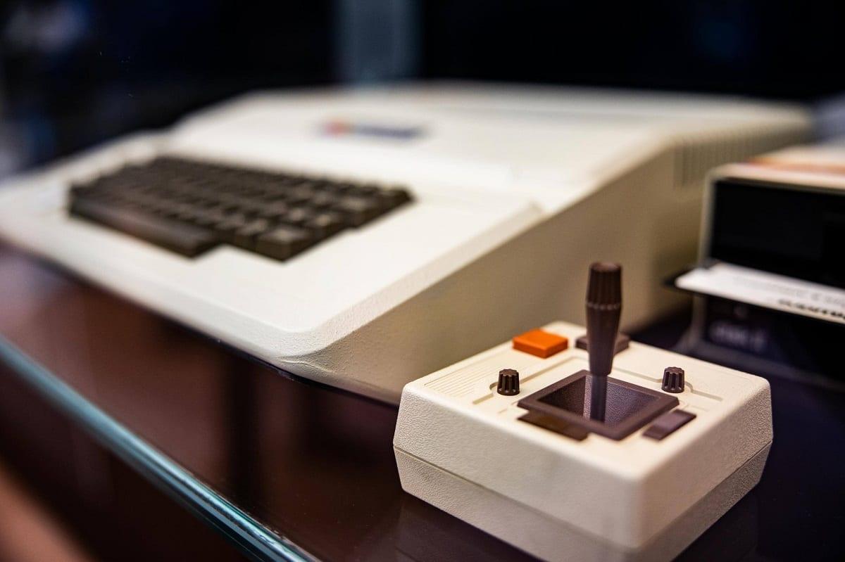 Un vecchio computer Apple