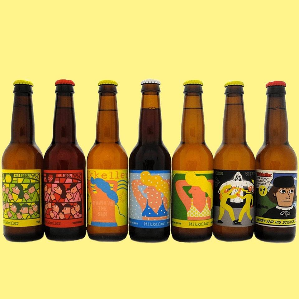 Birre in bottiglia di Mikkeller