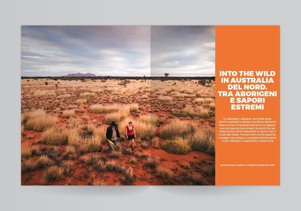 Il deserte dell'Australia del Nord sul Gambero Rosso