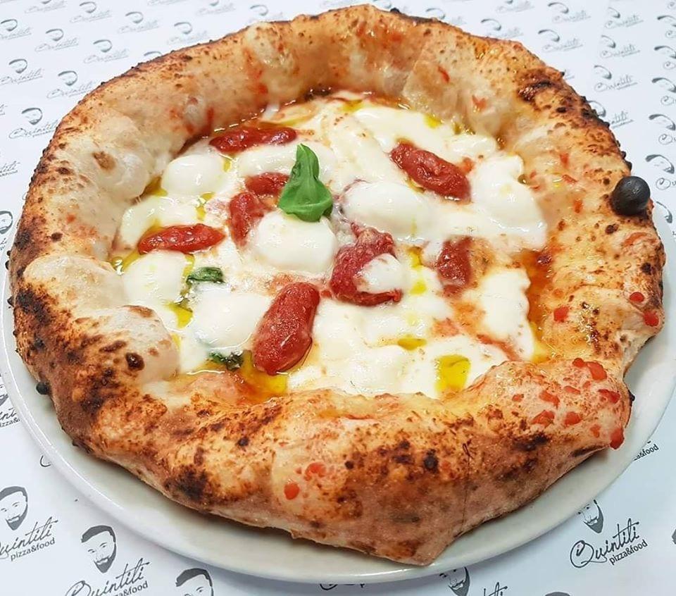 Pizza margherita de I Quintili