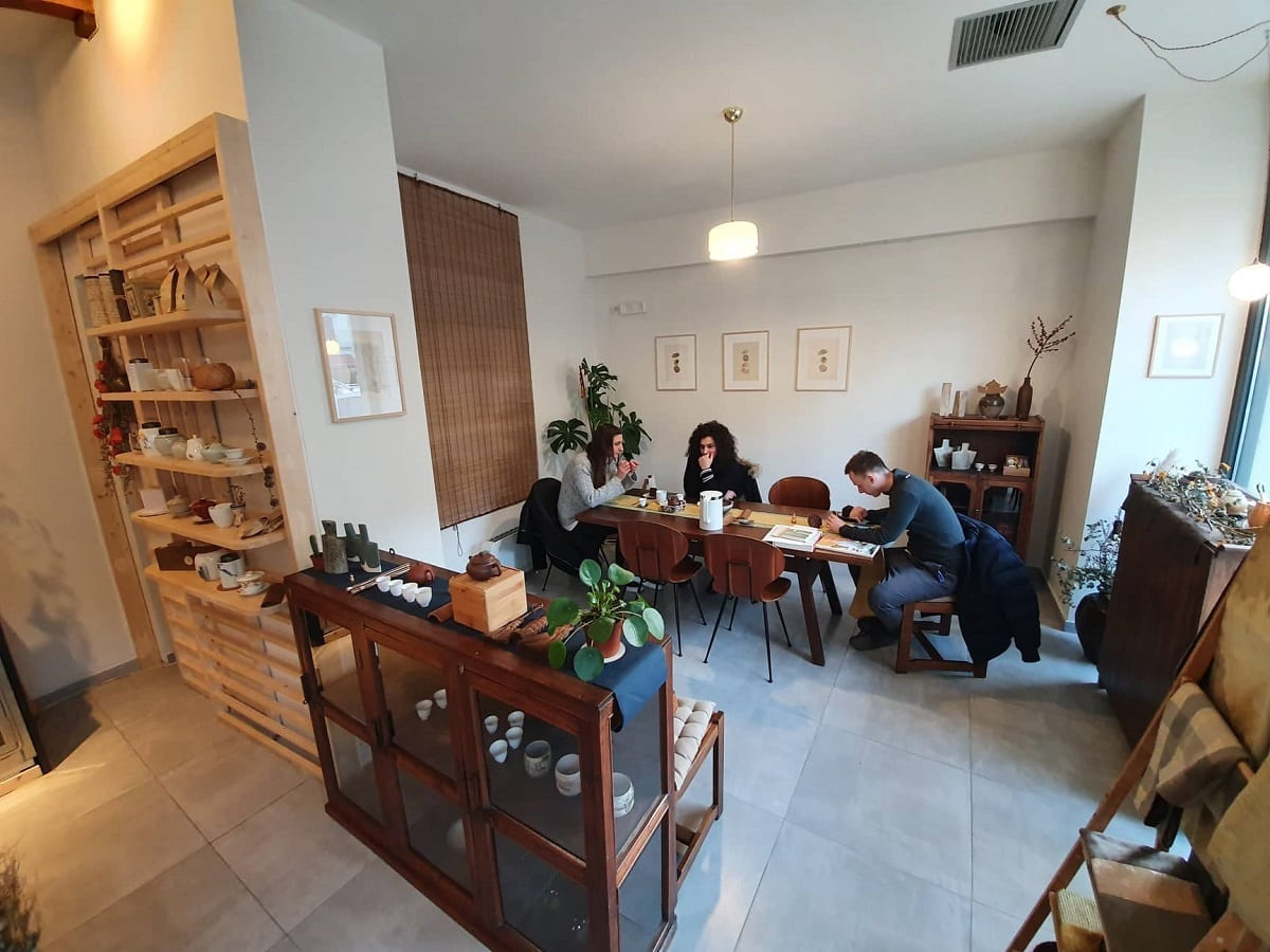 La sala da tè di Xing Cha