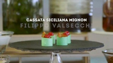 Filippo Valsecchi e la sua Cassata Siciliana