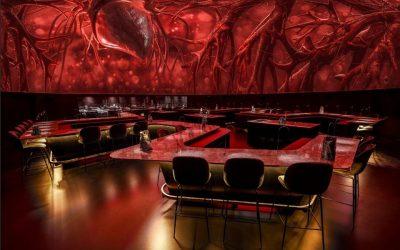 La sala del ristorante Alchemist a Copenhagen