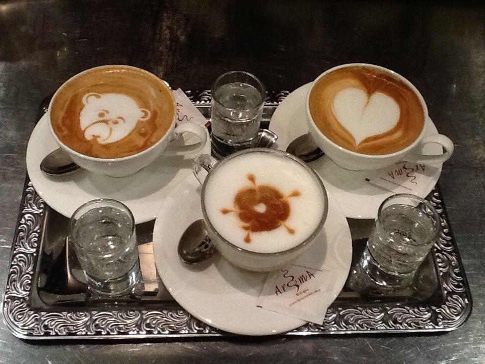 Cappuccini, Aroma