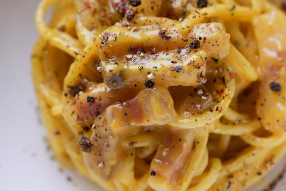 La carbonara di Antonello Colonna