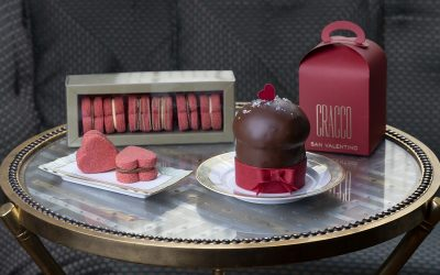 Una confezione di Baci di Cracco per San Valentino