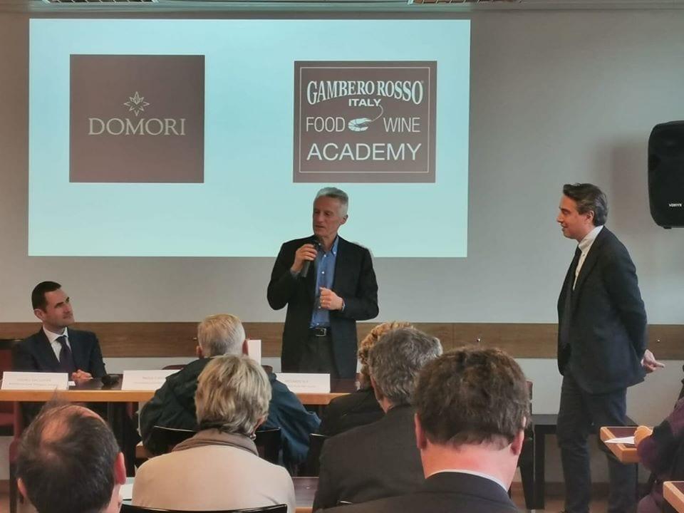 Riccardo Illy presenta il sodalizio con Domori