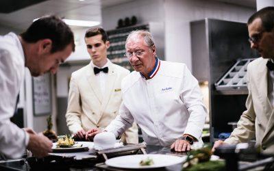 Eric Frechon in cucina