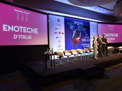 Convegno Vino 4.0, premiazione Enoteche d'Italia e degustazione Anteprima Fiere Vino
