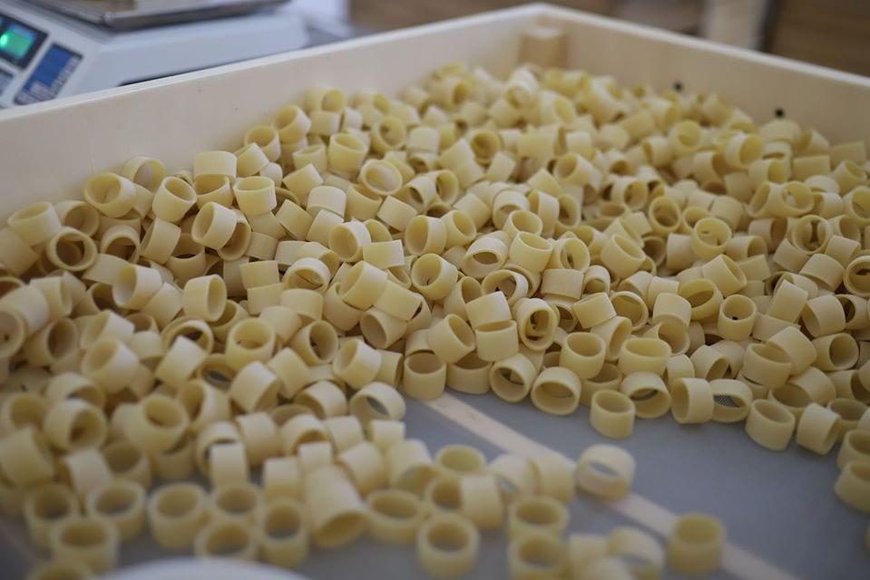 Pasta di Gragnano in essiccazione