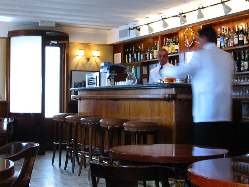 Harry's Bar, sala