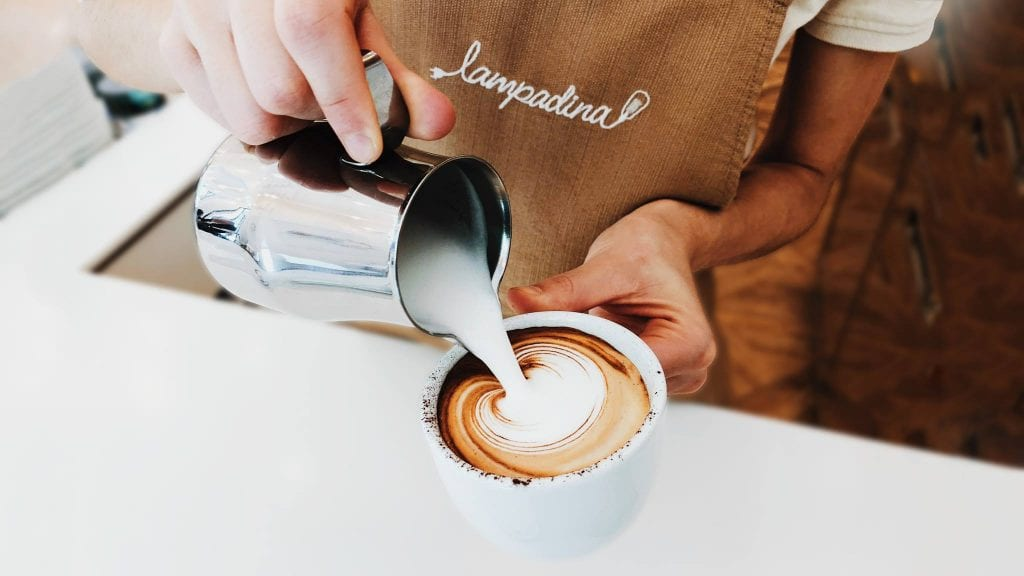 Cappuccino, Lampadina Café