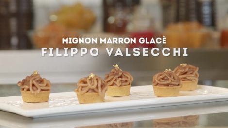 Filippo Valsecchi e il suo Marron Glacé