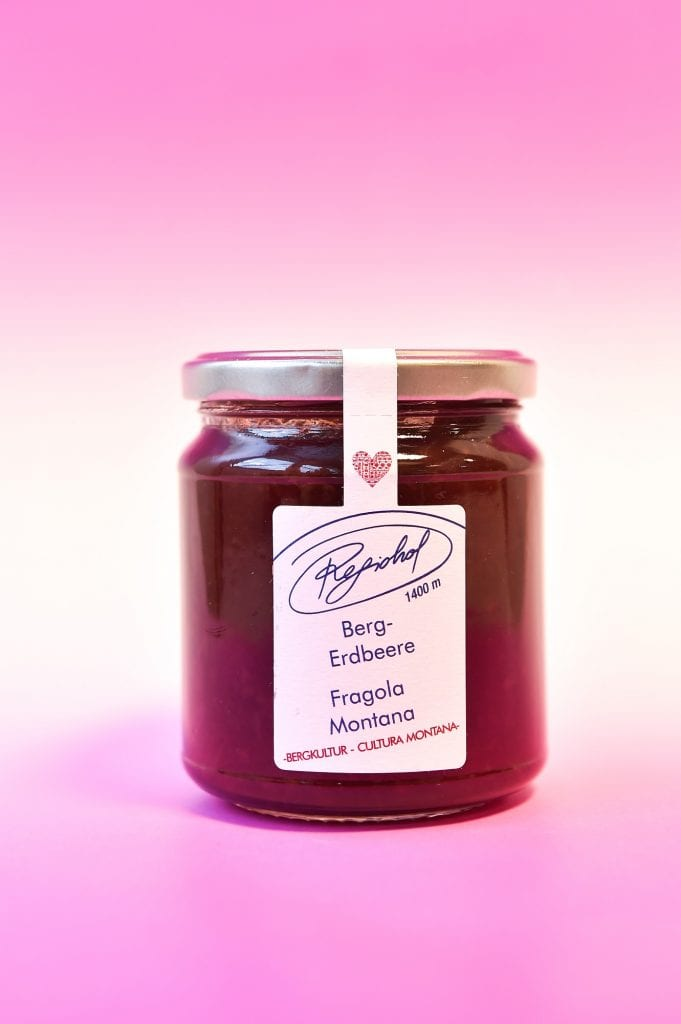 confettura di fragole Maso Regiohof
