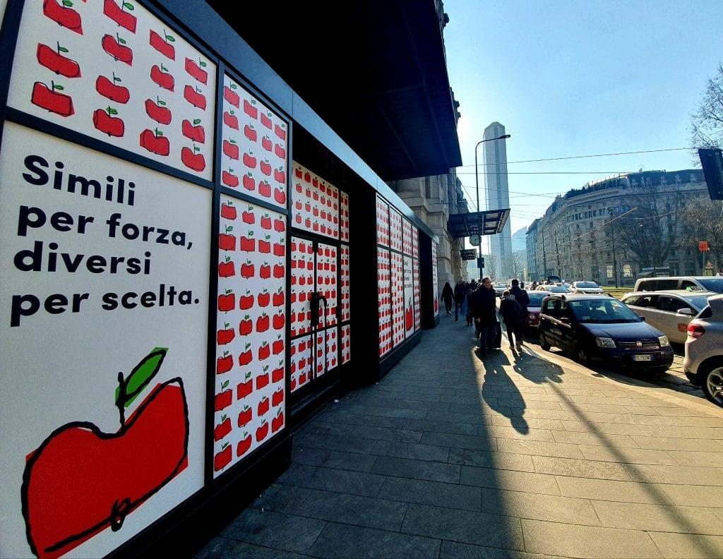 Mercato Centrale Milano, esterno