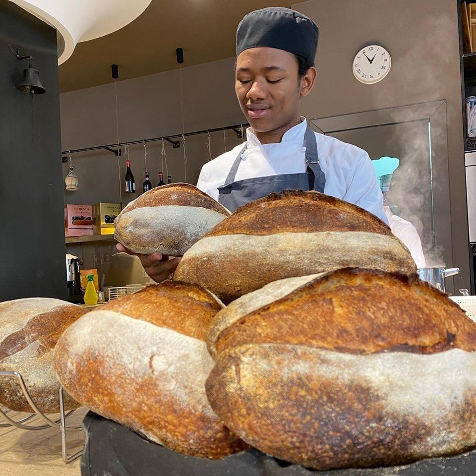 Il pane di Mamadou Diallo da Cucina.eat