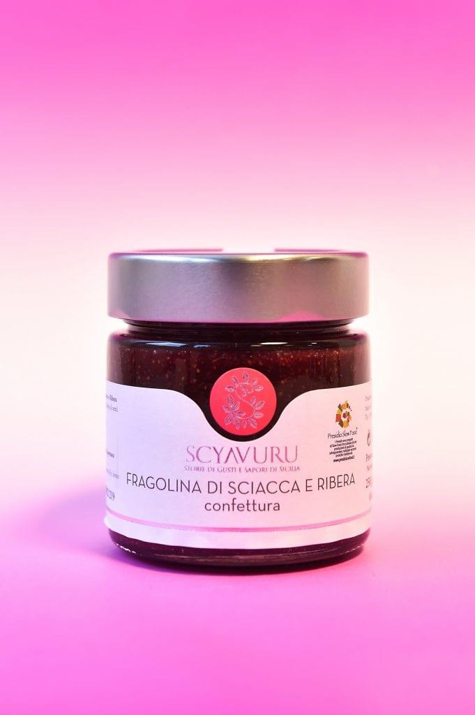 confettura di fragole Scyavuru