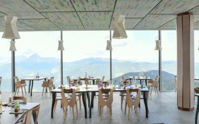 La sala del ristorante AlpInn