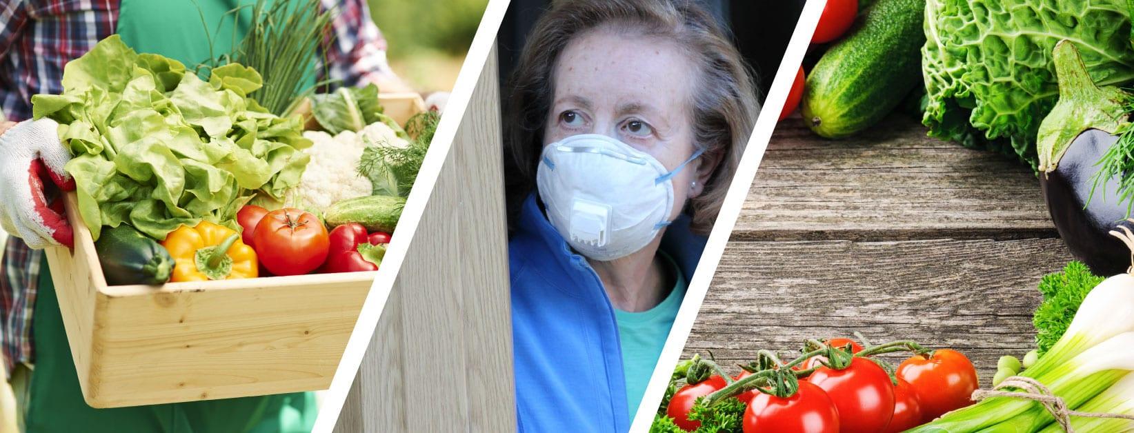 La spesa del contadino a casa durante l'emergenza coronavirus
