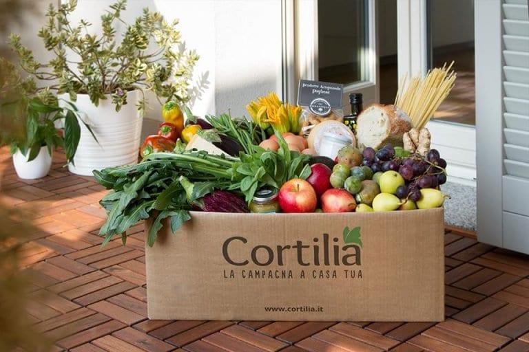 Pacco verdura Cortilia