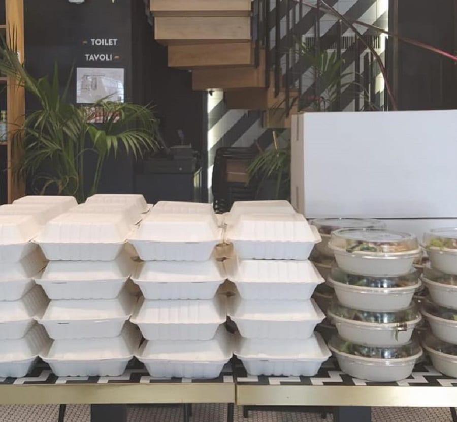 Food delivery di Fancy Toast pronto per gli ospedali di Milano