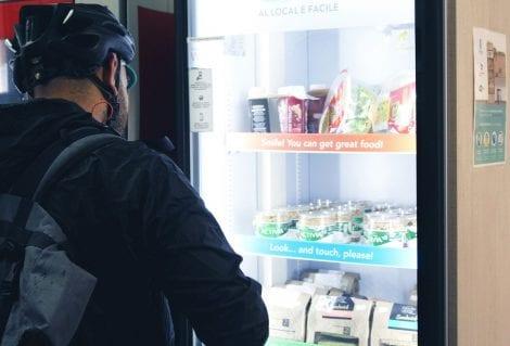 Distributore automatico healthy di FrescoFrigo