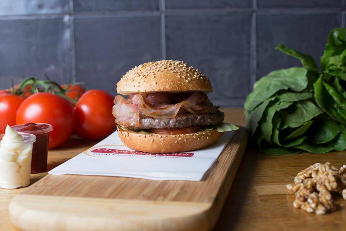 L'Hamburgheria di Eataly food delivery torino