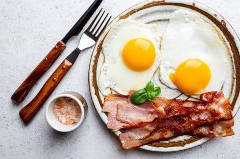mantenersi in forma coronavirus - colazione salata