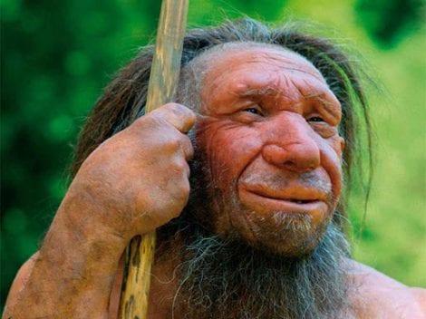 Un uomo di Neanderthal