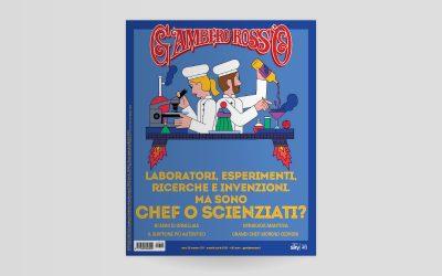 La copertina del numero di aprile 2020 di Gambero Rosso