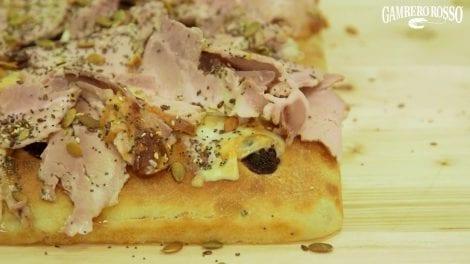 Pizza in teglia. La ricetta di Giovanni Marchetto e Luca Pezzetta